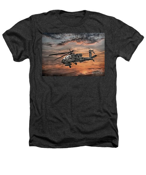 Ah-64 Apache Attack Helicopter Heathers T-Shirt