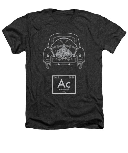 Aircooled Element - Beetle Heathers T-Shirt by Ed Jackson