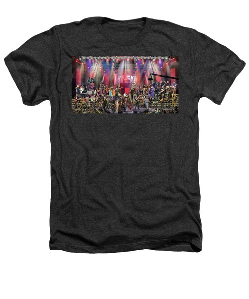 All Star Jam Heathers T-Shirt by Don Olea