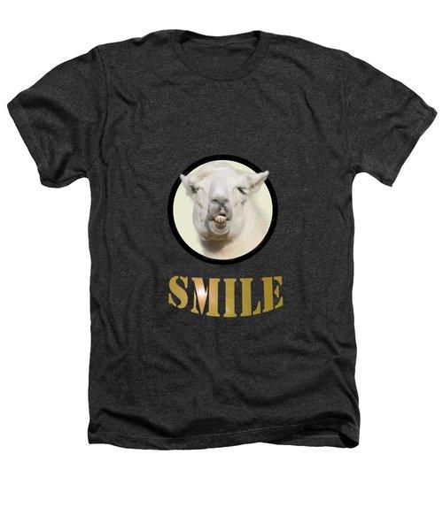 Alpaca Smile  Heathers T-Shirt