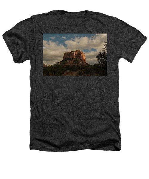 Arizona Red Rocks Sedona 0222 Heathers T-Shirt by David Haskett