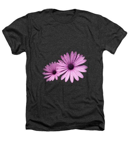 Dew Drops On Daisies Heathers T-Shirt