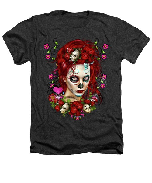Sugar Doll Red Heathers T-Shirt
