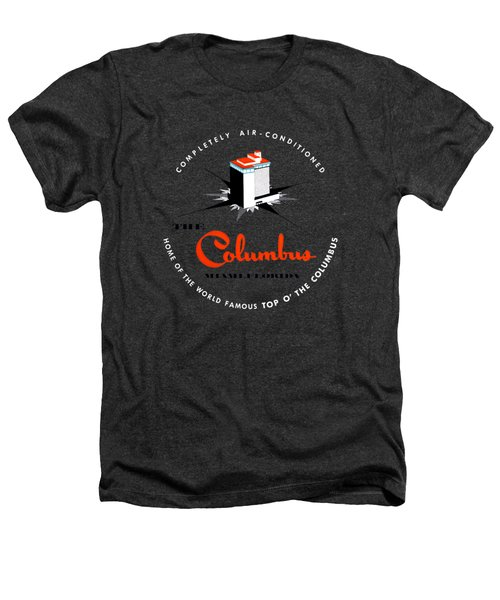 1955 Columbus Hotel Of Miami Florida  Heathers T-Shirt by Historic Image