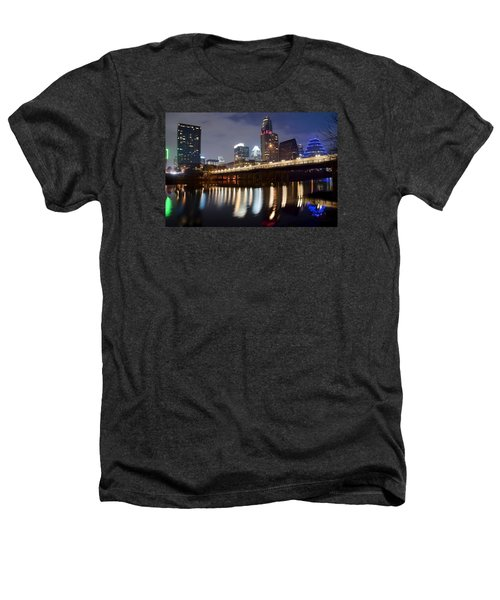 Austin From Below Heathers T-Shirt by Frozen in Time Fine Art Photography