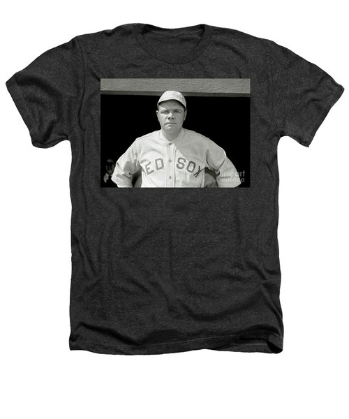 Babe Ruth Red Sox Heathers T-Shirt