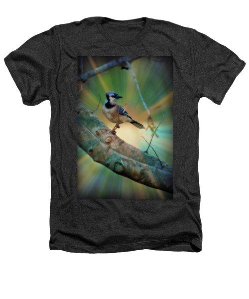 Baby Blue Heathers T-Shirt by Trish Tritz