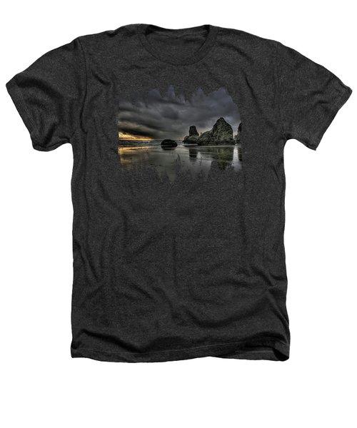 Bandon Beach Storm Heathers T-Shirt