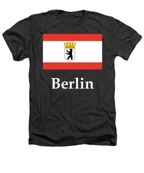 Berlin, Germany Flag And Name Heathers T-Shirt by Frederick Holiday