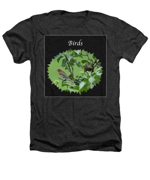 Birds Heathers T-Shirt by Jan M Holden