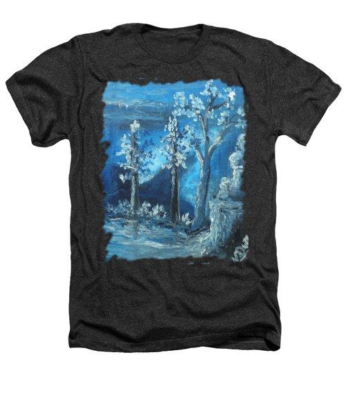 Blue Nature Heathers T-Shirt