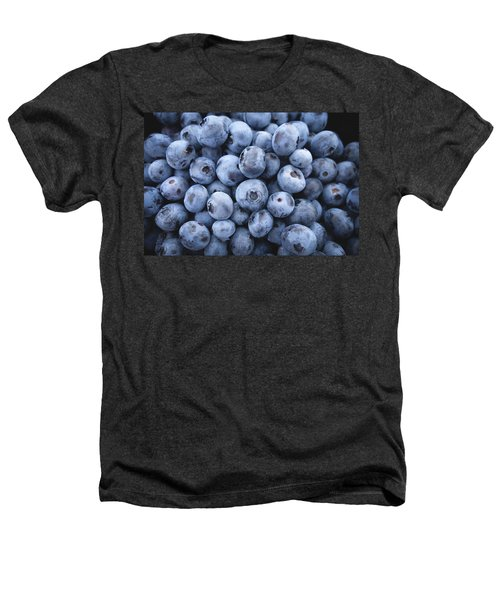 Blueberries Heathers T-Shirt by Happy Home Artistry