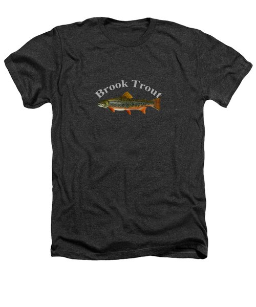 Brook Trout Heathers T-Shirt by T Shirts R Us -