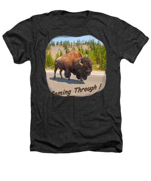 Buffalo Heathers T-Shirt by John M Bailey
