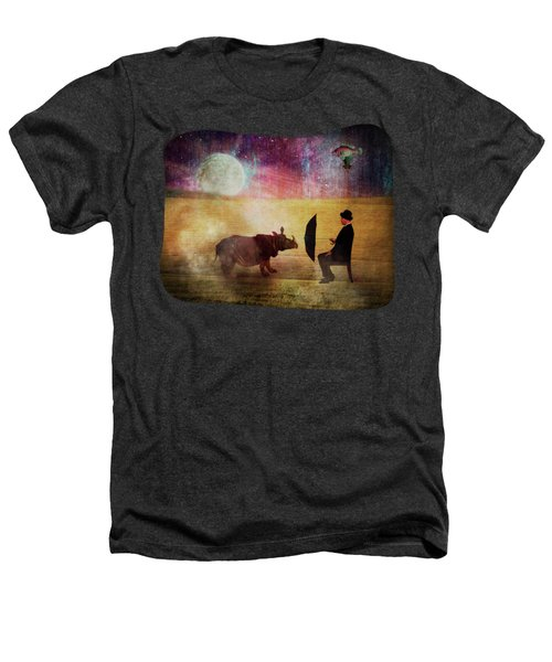 By The Light Of The Moon Heathers T-Shirt by Terry Fleckney