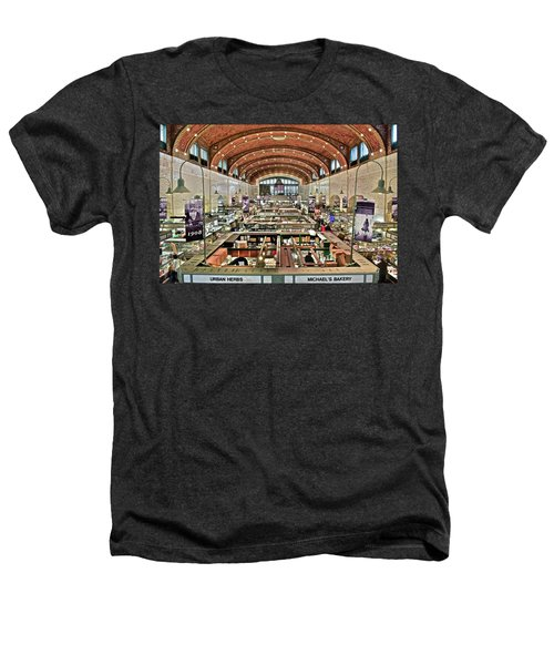 Classic Westside Market Heathers T-Shirt by Frozen in Time Fine Art Photography