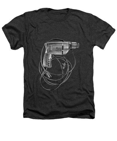 Craftsman Drill Motor Bs Bw Heathers T-Shirt by YoPedro