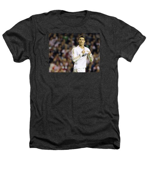 Cristiano Ronaldo 4 Heathers T-Shirt