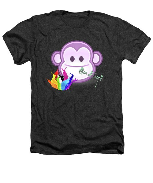 Cute Gorilla Baby Heathers T-Shirt by Maria Astedt