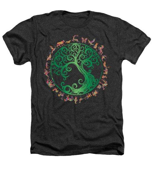 Cycle Of Life Heathers T-Shirt by Martinus Sumbaji