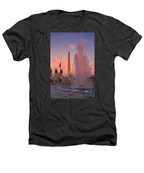Dc Sunset Heathers T-Shirt by Betsy Knapp