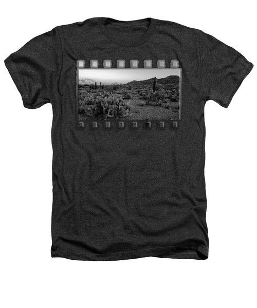 Desert Foothills H30 Heathers T-Shirt by Mark Myhaver