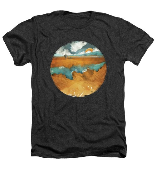 Desert Lake Heathers T-Shirt by Spacefrog Designs