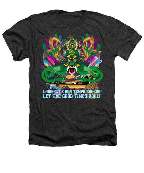 Dj Dragon6 King All Products Heathers T-Shirt by Bill Campitelle