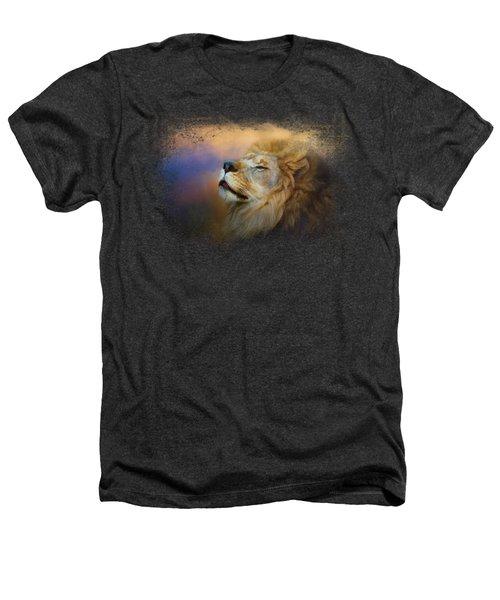 Do Lions Go To Heaven? Heathers T-Shirt by Jai Johnson