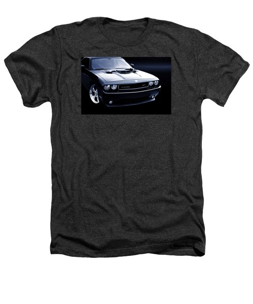 Dodge Challenger Blackbird Sr-71 Heathers T-Shirt by Thomas Burtney