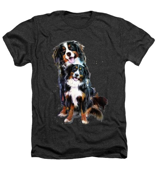 Dog Family Heathers T-Shirt