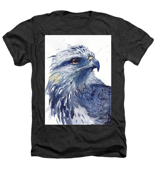 Eagle Watercolor Heathers T-Shirt