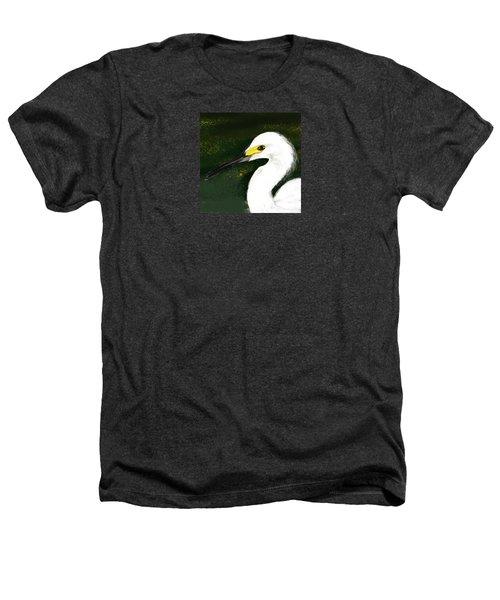 Egret Heathers T-Shirt by Beth Klock