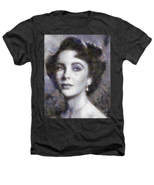 Elizabeth Taylor By Sarah Kirk Heathers T-Shirt
