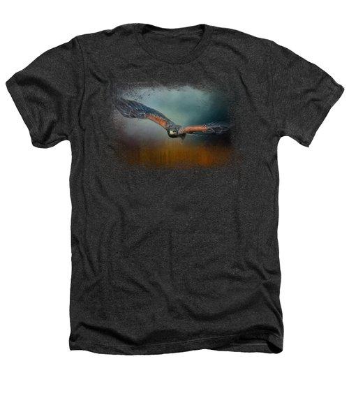 Flight Of The Harris Hawk Heathers T-Shirt