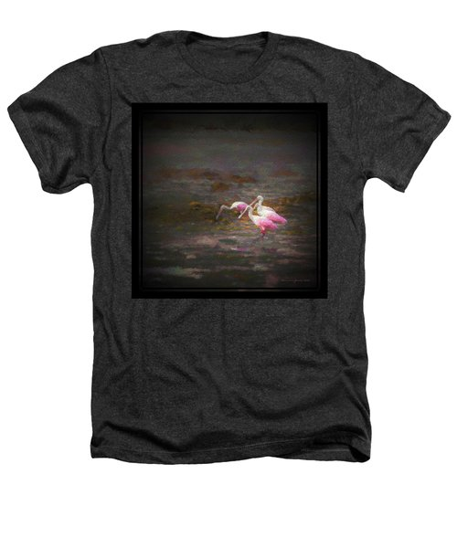 Four Spoons On The Marsh Heathers T-Shirt by Marvin Spates