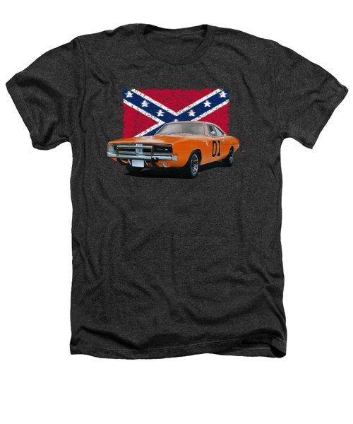 General Lee Rebel Heathers T-Shirt by Paul Kuras