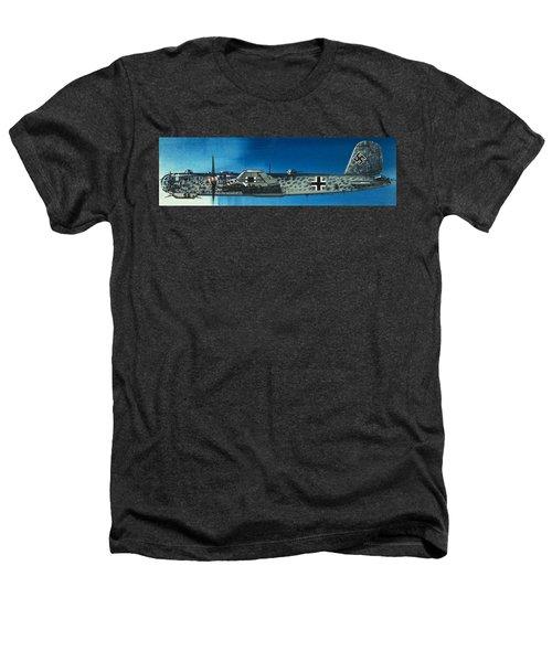 German Aircraft Of World War  Two Focke Wulf Condor Bomber Heathers T-Shirt
