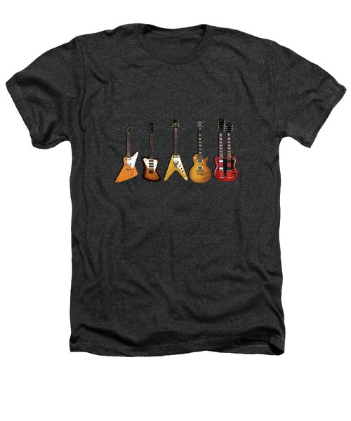 Gibson Electric Guitar Collection Heathers T-Shirt