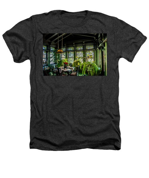 Glensheen Mansion Breakfast Room Heathers T-Shirt by Paul Freidlund