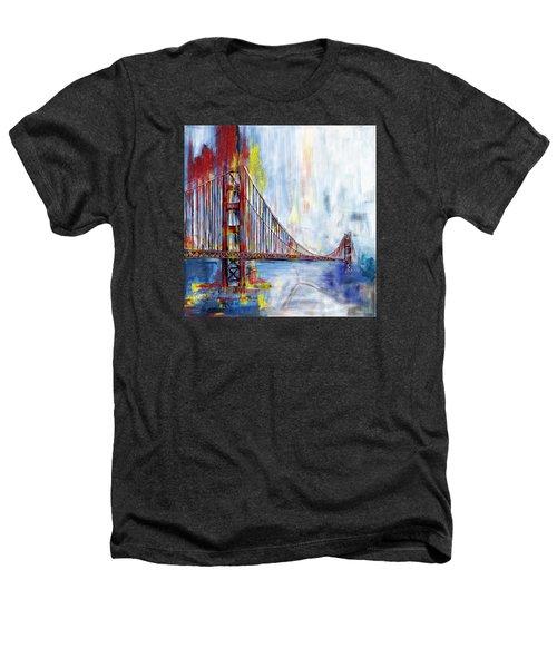 Golden Gate Bridge 218 1  Heathers T-Shirt by Mawra Tahreem
