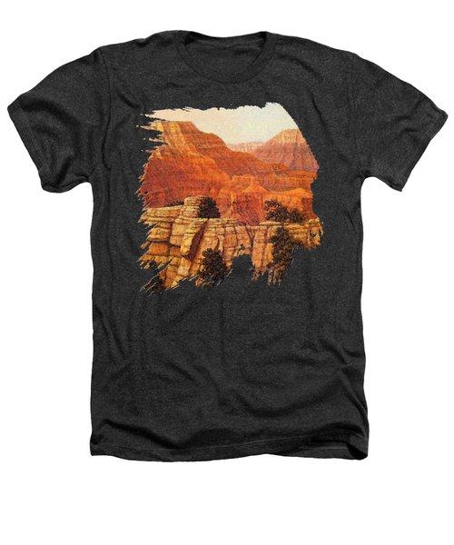 Grand Canyon Sunset Heathers T-Shirt