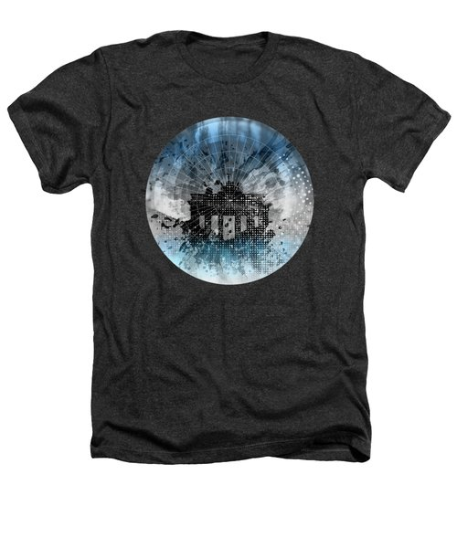 Graphic Art Berlin Brandenburg Gate Heathers T-Shirt by Melanie Viola