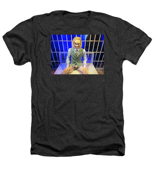 Heath Ledger As The Joker Heathers T-Shirt by John Malone