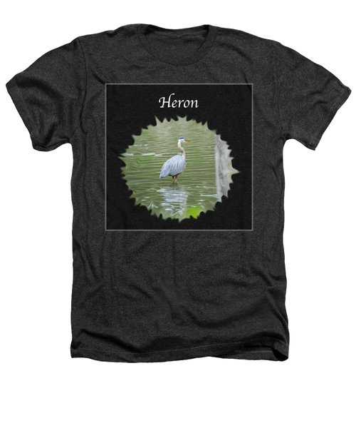 Heron Heathers T-Shirt by Jan M Holden