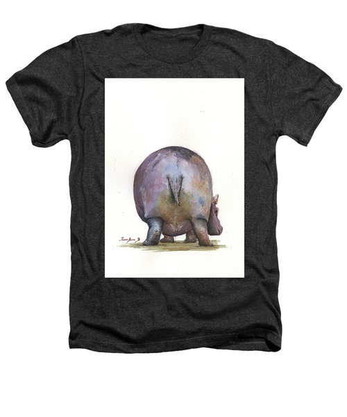 Hippo Back Heathers T-Shirt