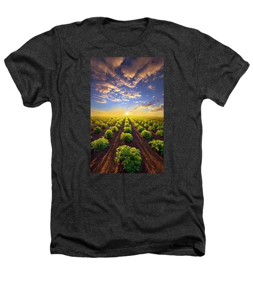 Into The Future Heathers T-Shirt by Phil Koch