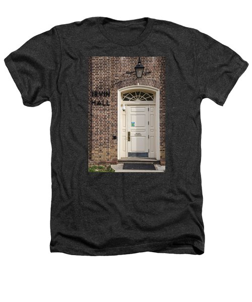 Irvin Hall Penn State  Heathers T-Shirt by John McGraw