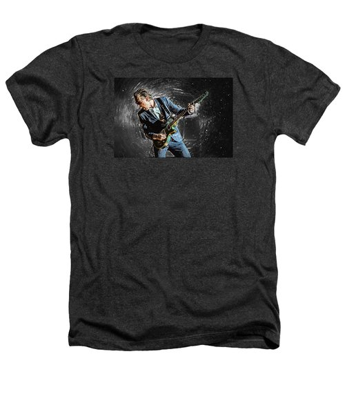 Joe Bonamassa Heathers T-Shirt by Taylan Apukovska