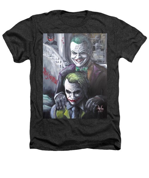 Jokery In Wayne Manor Heathers T-Shirt by Tyler Haddox